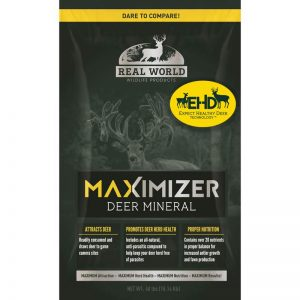 A bag of the most advanced custom deer minerals that helps big bucks to large antlers.